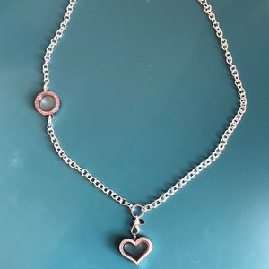 Origami Owl Over The Heart Chain